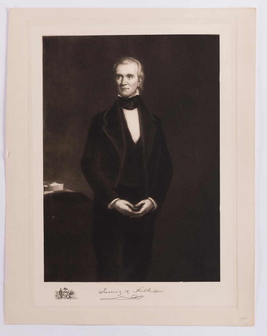 James K. Polk Ephemera, 6 items - 3