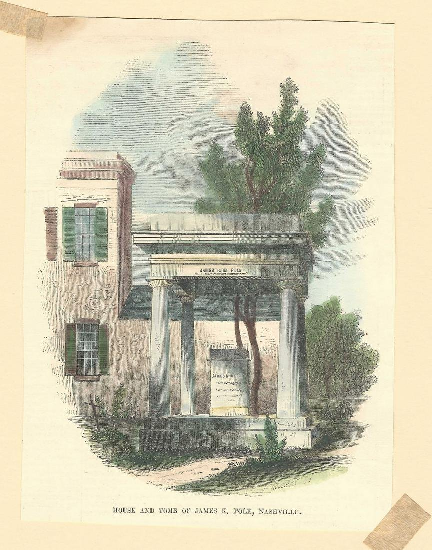 James K. Polk Ephemera, 6 items - 5