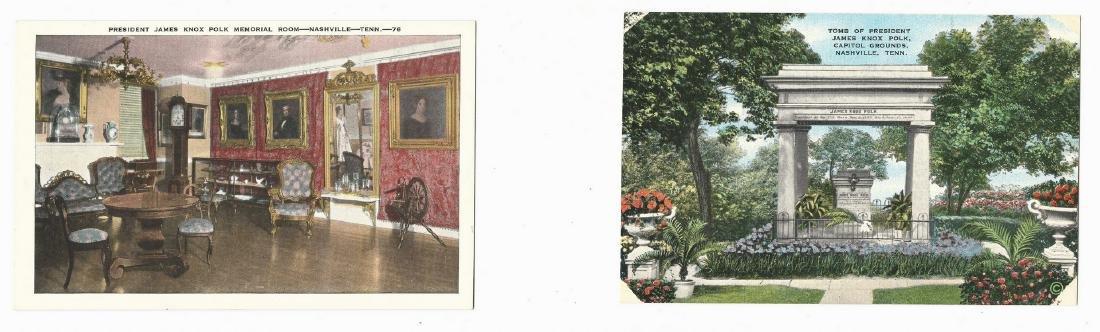 James K. Polk Ephemera, 6 items - 8