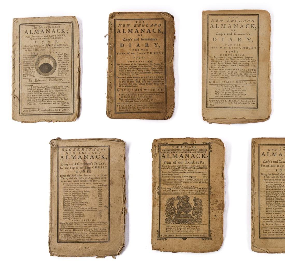 11 Rev. War Era Almanacks, 1777-1784 - 2