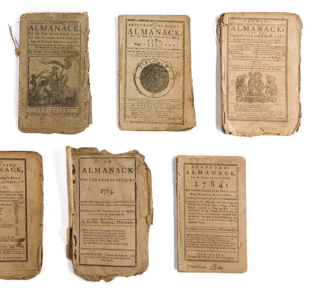 11 Rev. War Era Almanacks, 1777-1784 - 3