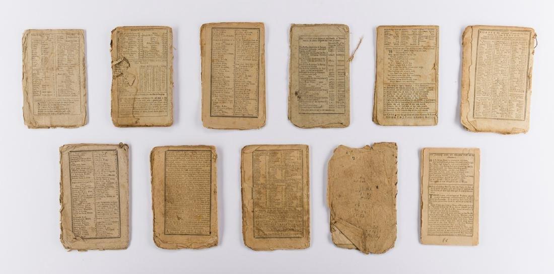 11 Rev. War Era Almanacks, 1777-1784 - 4