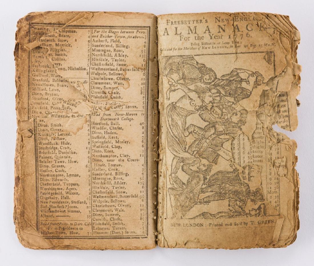 11 Rev. War Era Almanacks, 1777-1784 - 5