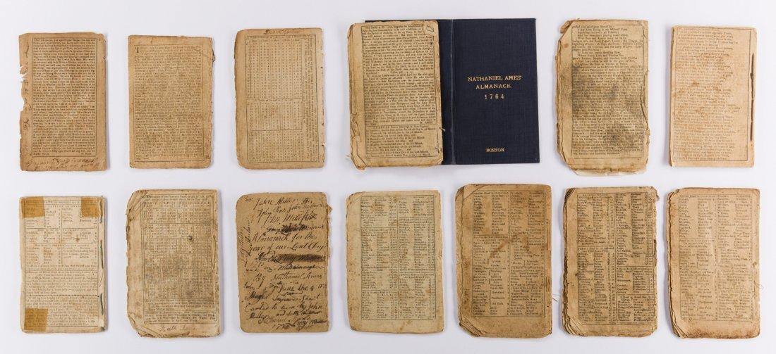 14 Pre Rev. War Almanacks, 1752-1774 - 5