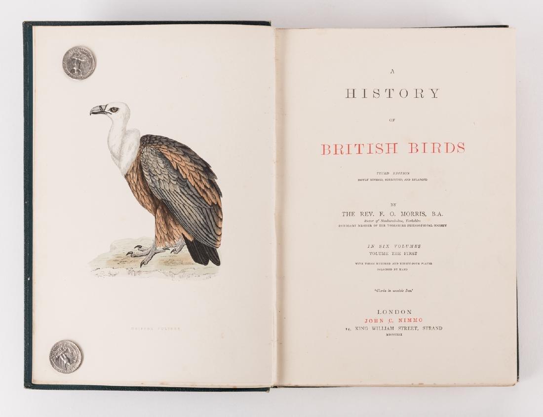 History of British Birds, F. Morris, 1891, 6 Vols. - 4