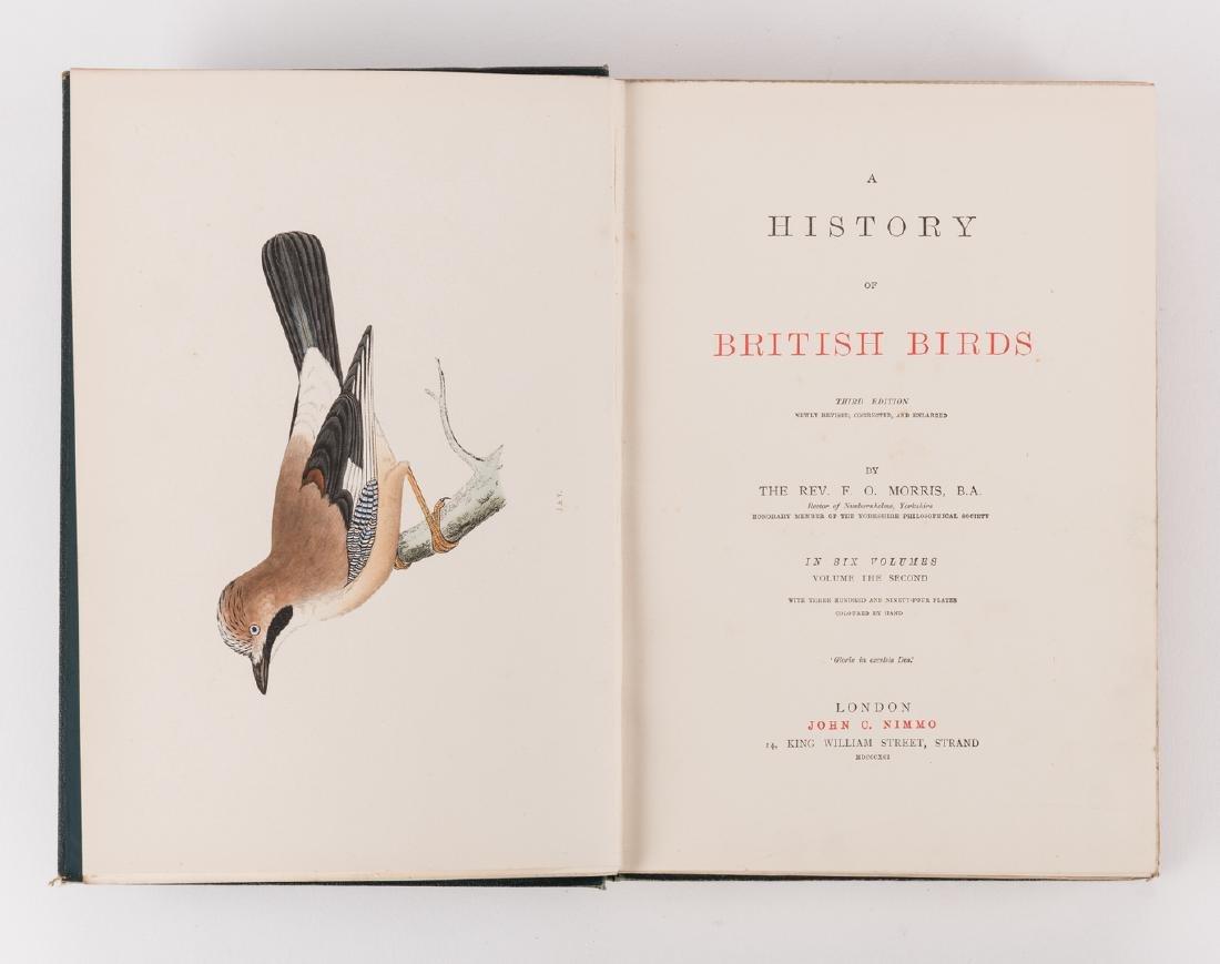 History of British Birds, F. Morris, 1891, 6 Vols. - 9