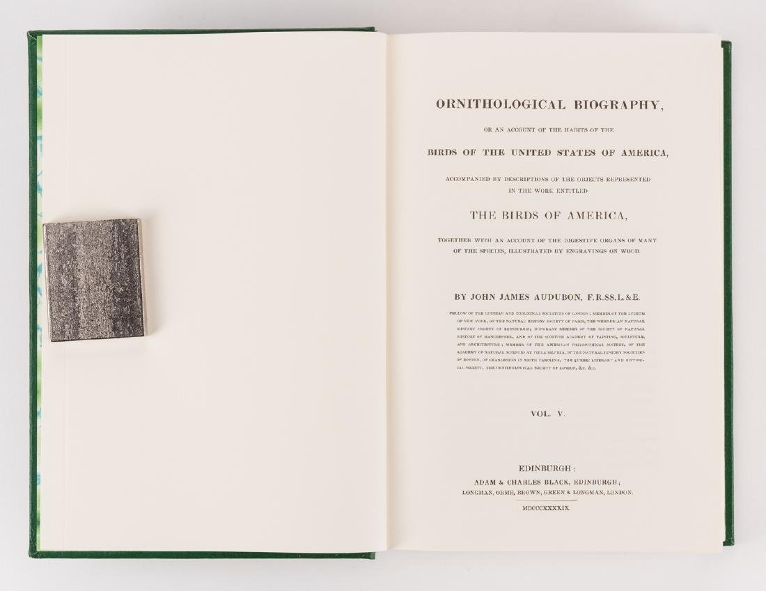 8 Audubon Books inc. 1846 Quadrupeds Text Vol. 1 - 8