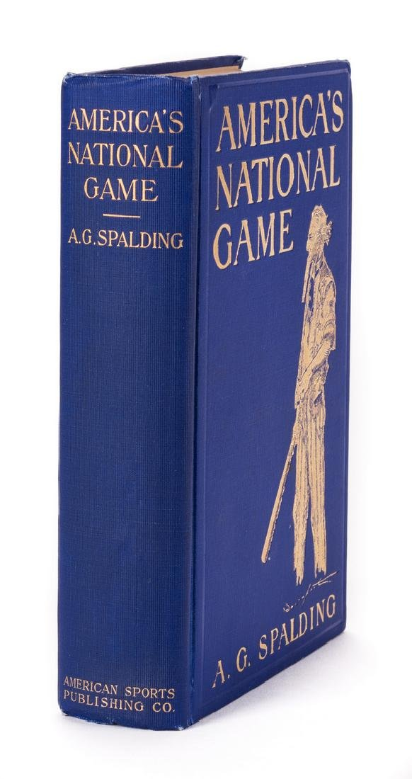 A.G. Spalding, AMERICA'S NATIONAL GAME, signed 1st