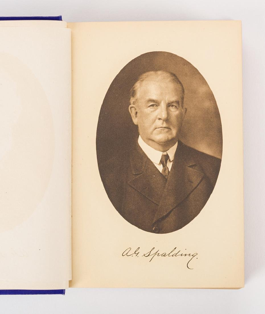 A.G. Spalding, AMERICA'S NATIONAL GAME, signed 1st - 5
