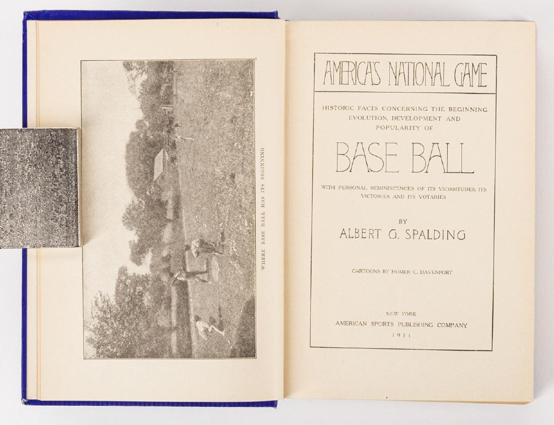 A.G. Spalding, AMERICA'S NATIONAL GAME, signed 1st - 6