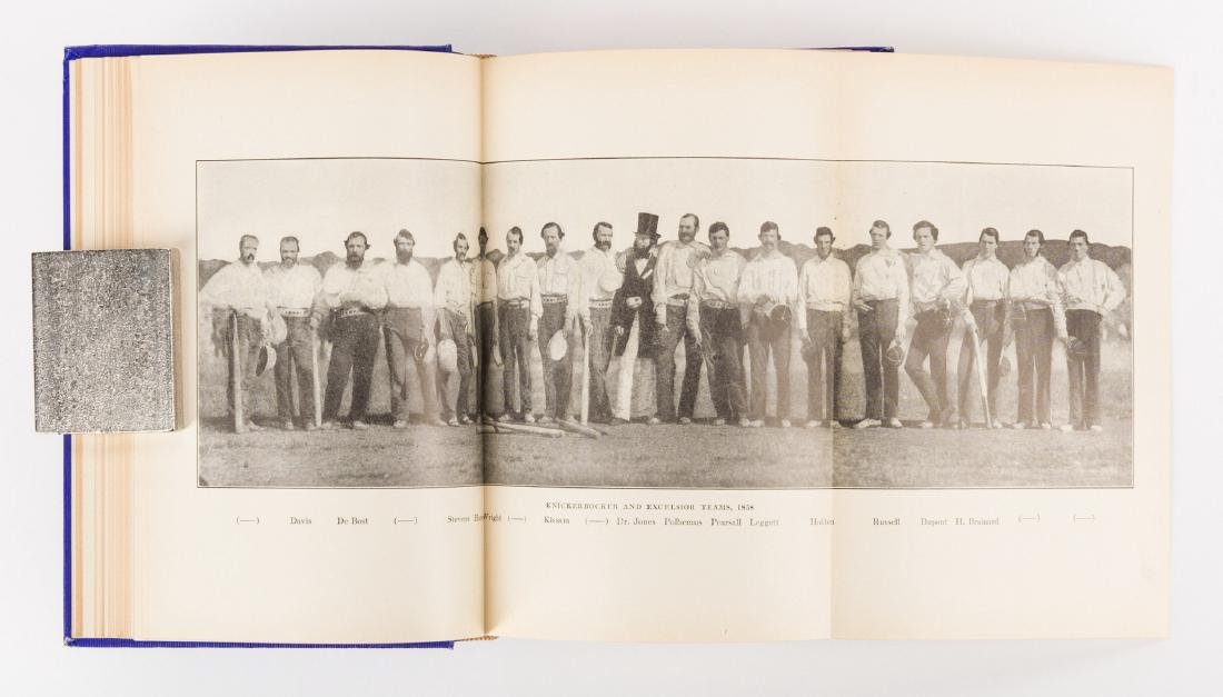A.G. Spalding, AMERICA'S NATIONAL GAME, signed 1st - 9
