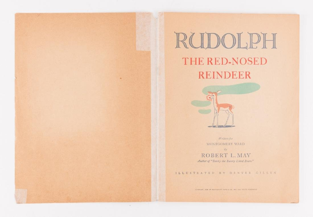 Rudolph the Red-Nosed Reindeer 1st Ed - 3