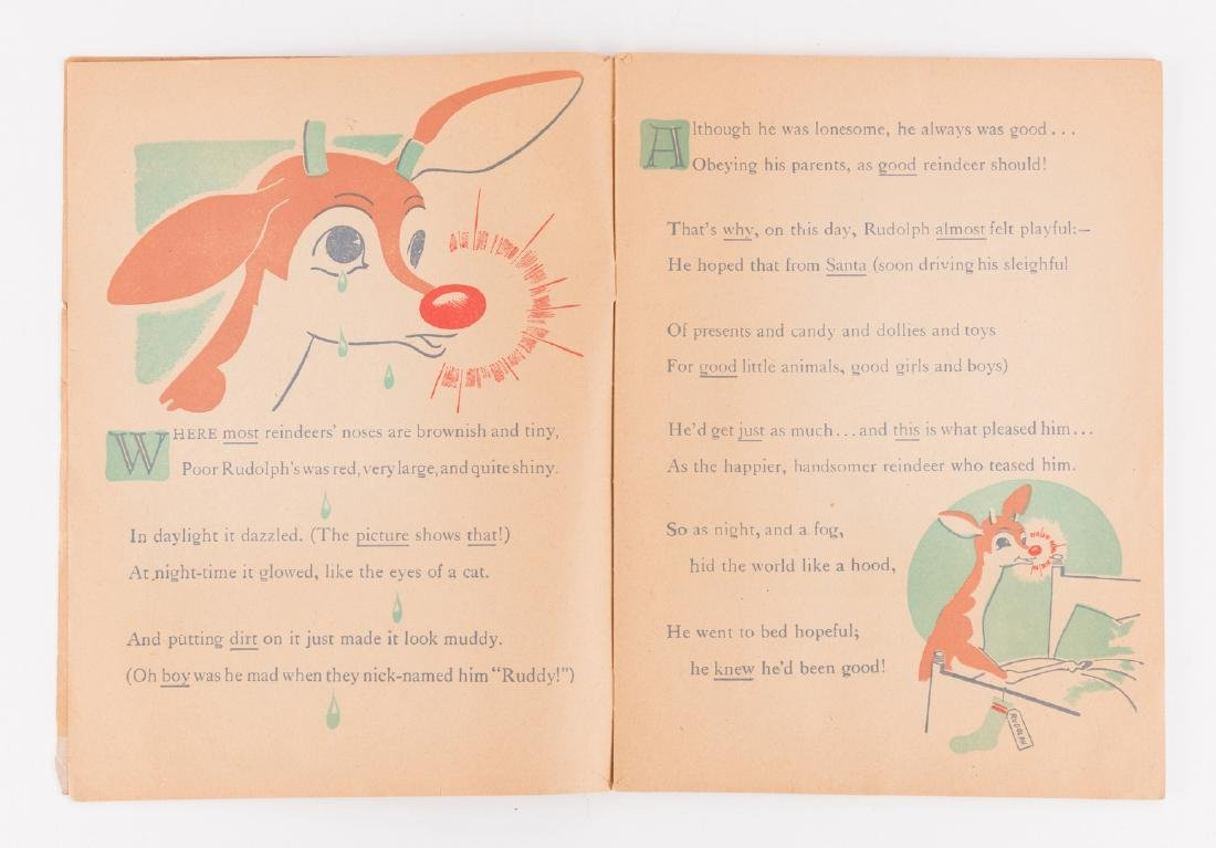 Rudolph the Red-Nosed Reindeer 1st Ed - 4