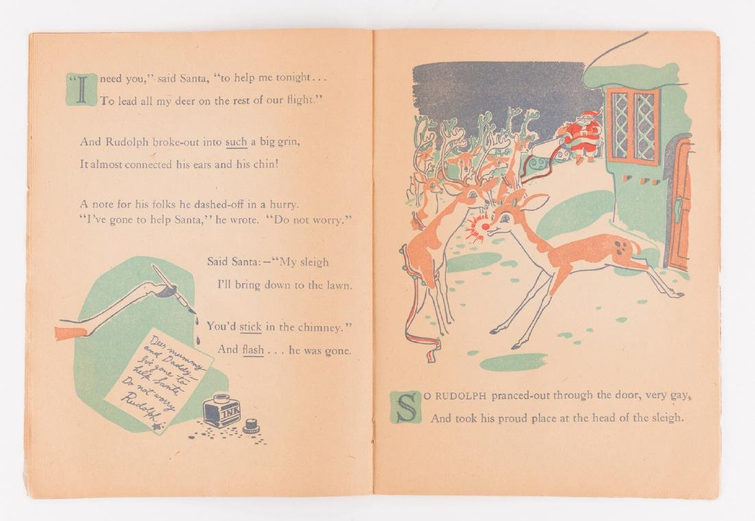 Rudolph the Red-Nosed Reindeer 1st Ed - 5