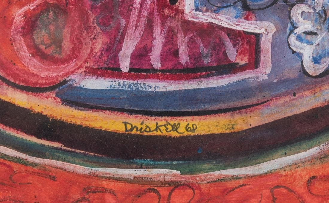 David Driskell, Woodcut/Silkscreen, Fruit Bowl - 5