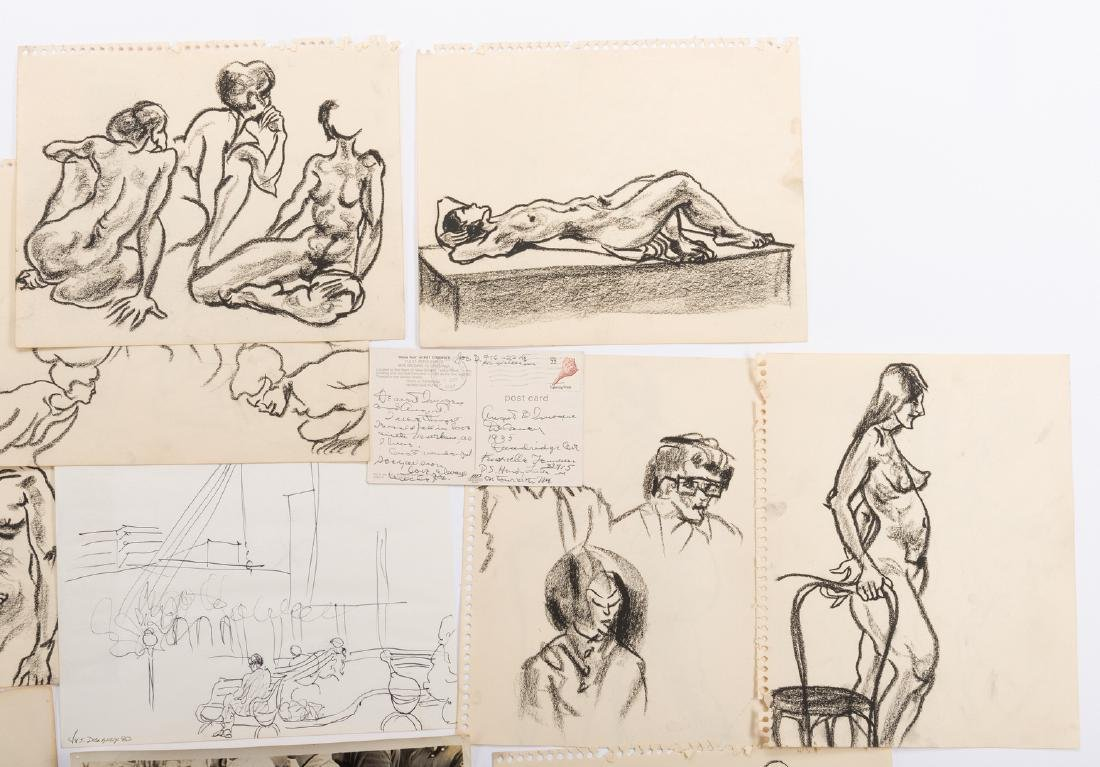 Joseph Delaney Archive, inc. Sketches, Photographs, 46 - 3