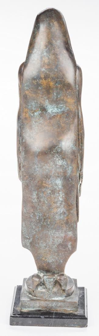 Modernist Bronze Sculpture of Female - 4