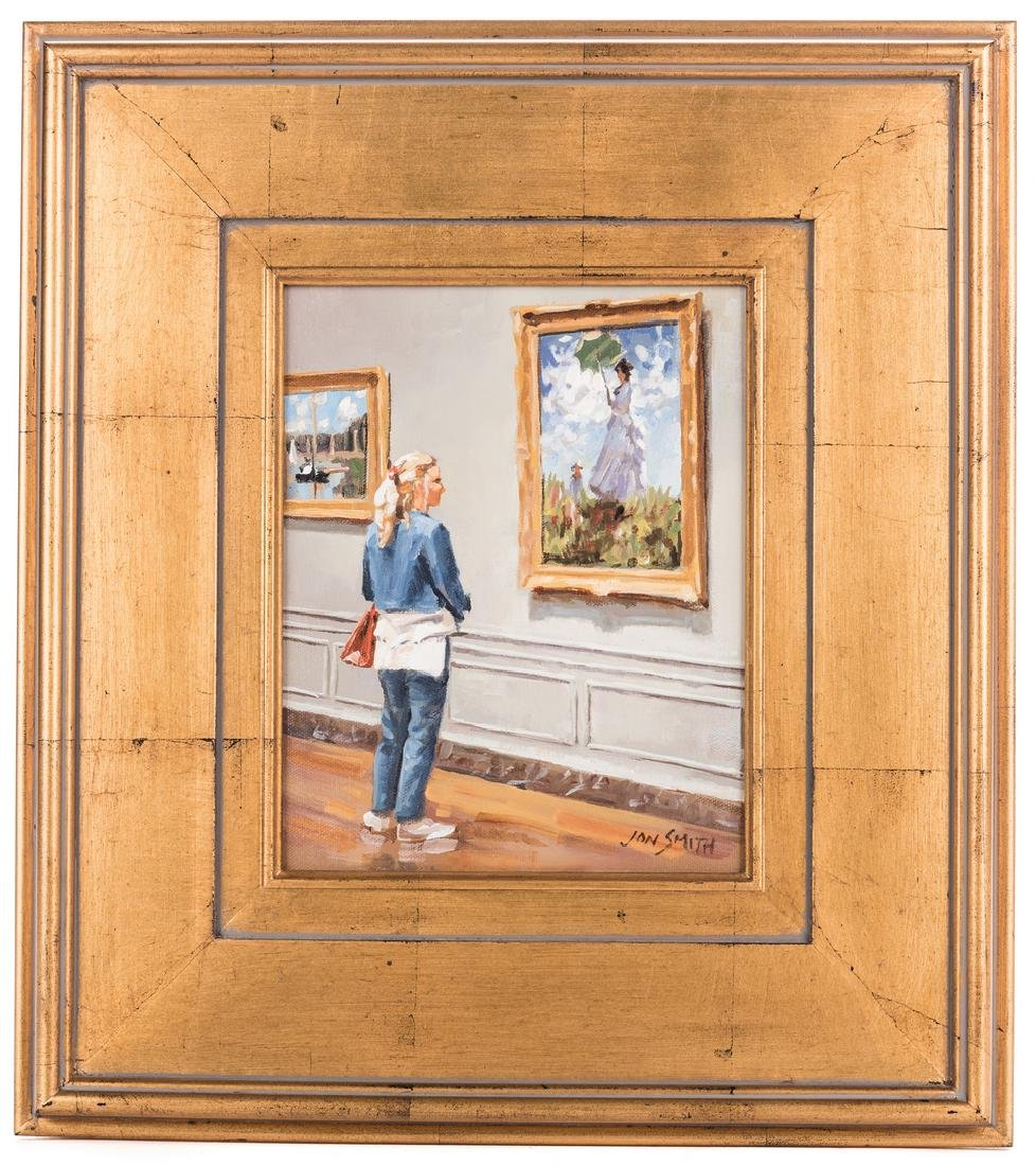 Jon Smith, O/C, National Gallery Wash D.C. Cy Monet