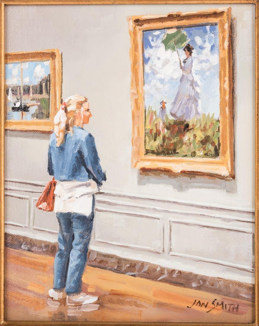 Jon Smith, O/C, National Gallery Wash D.C. Cy Monet - 2