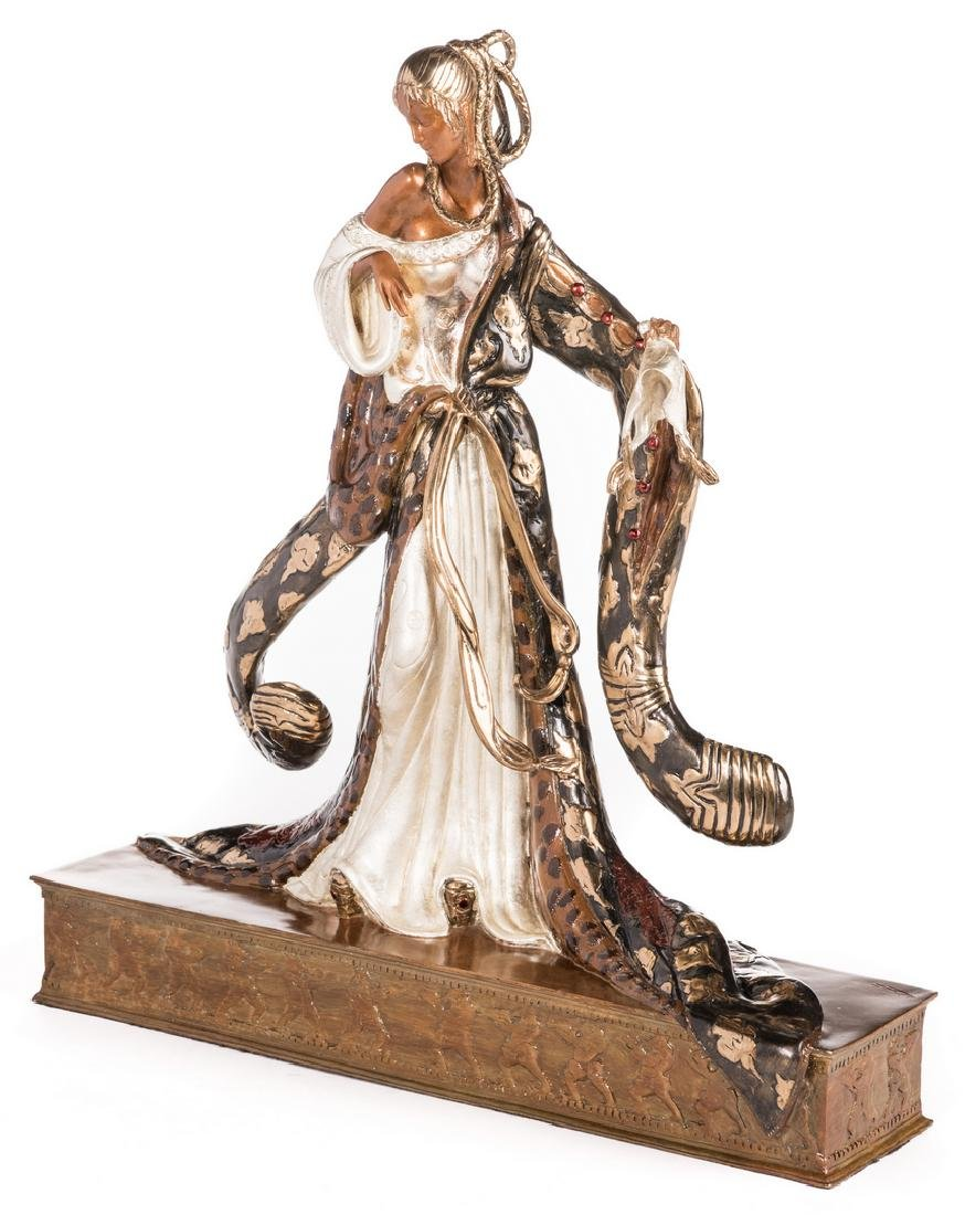Erte Sculpture, Rigoletto - 2