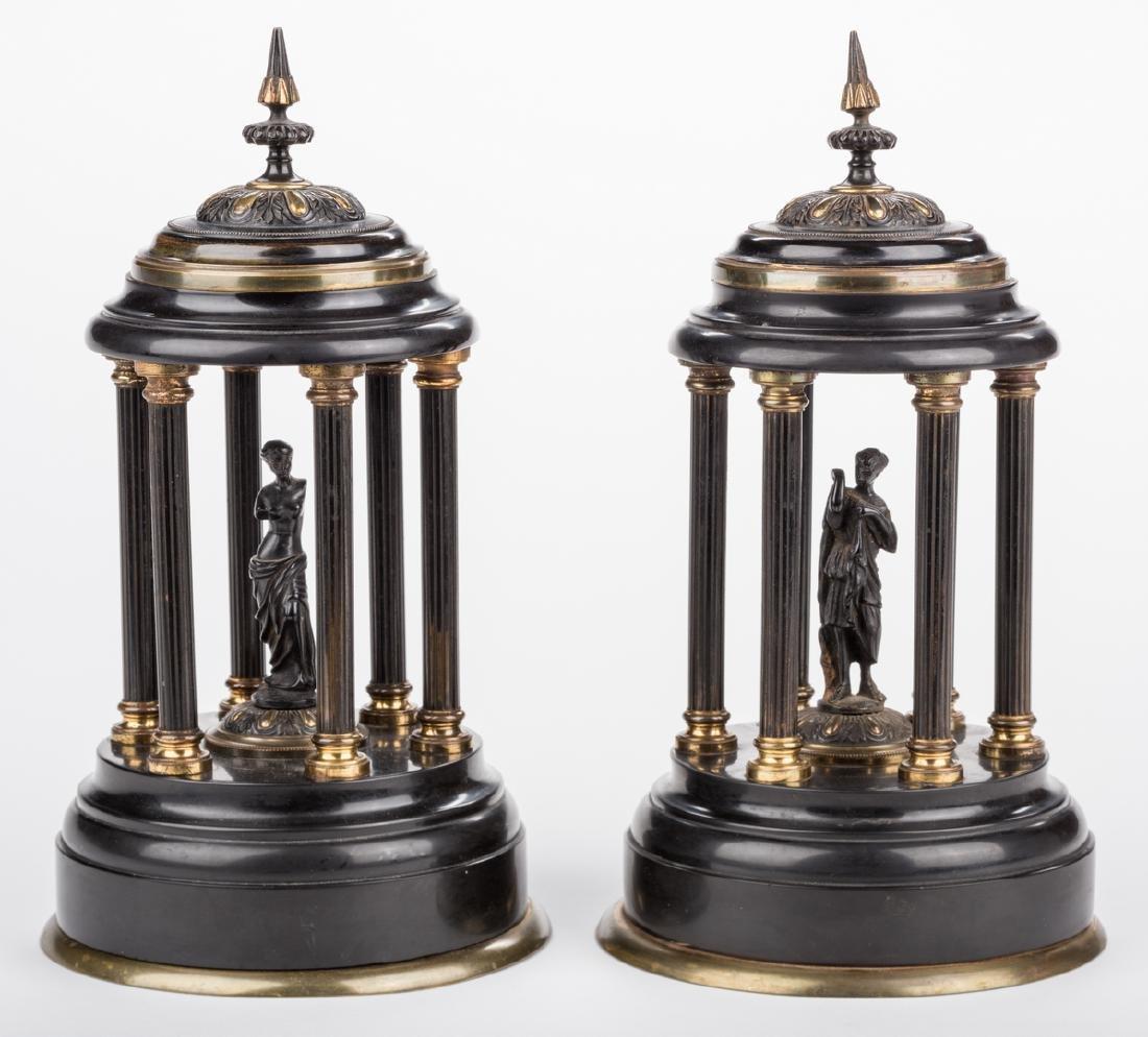 2 Bronze Pavilions plus Moses Sculpture - 3