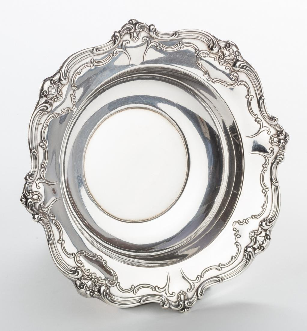 Sterling Bowl, Plate and Tray, Chantilly Duchess and - 2