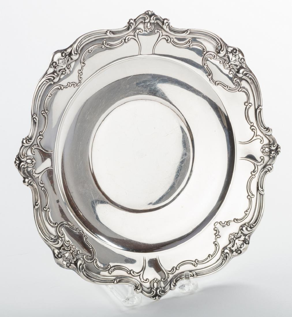 Sterling Bowl, Plate and Tray, Chantilly Duchess and - 3