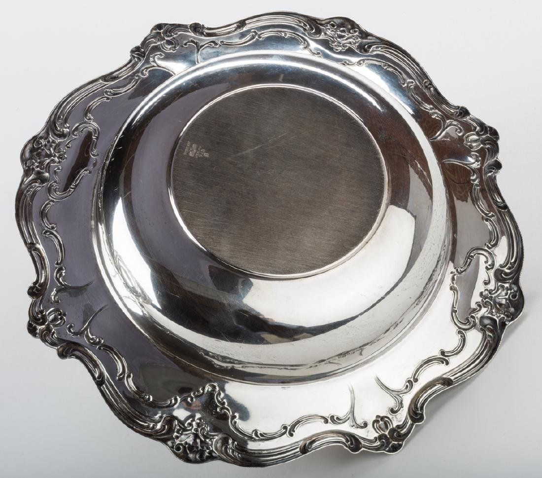 Sterling Bowl, Plate and Tray, Chantilly Duchess and - 6