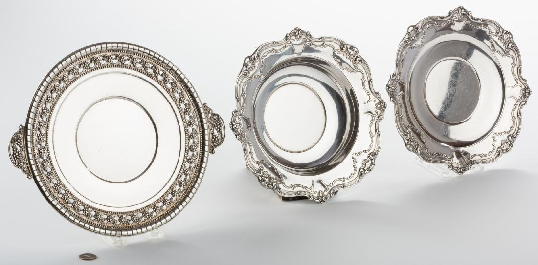 Sterling Bowl, Plate and Tray, Chantilly Duchess and - 9