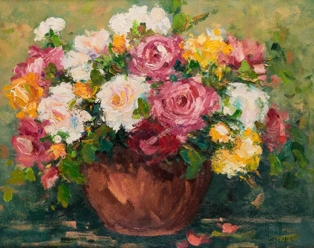 Yvette Sturgis, O/C, Still Life Painting - 2