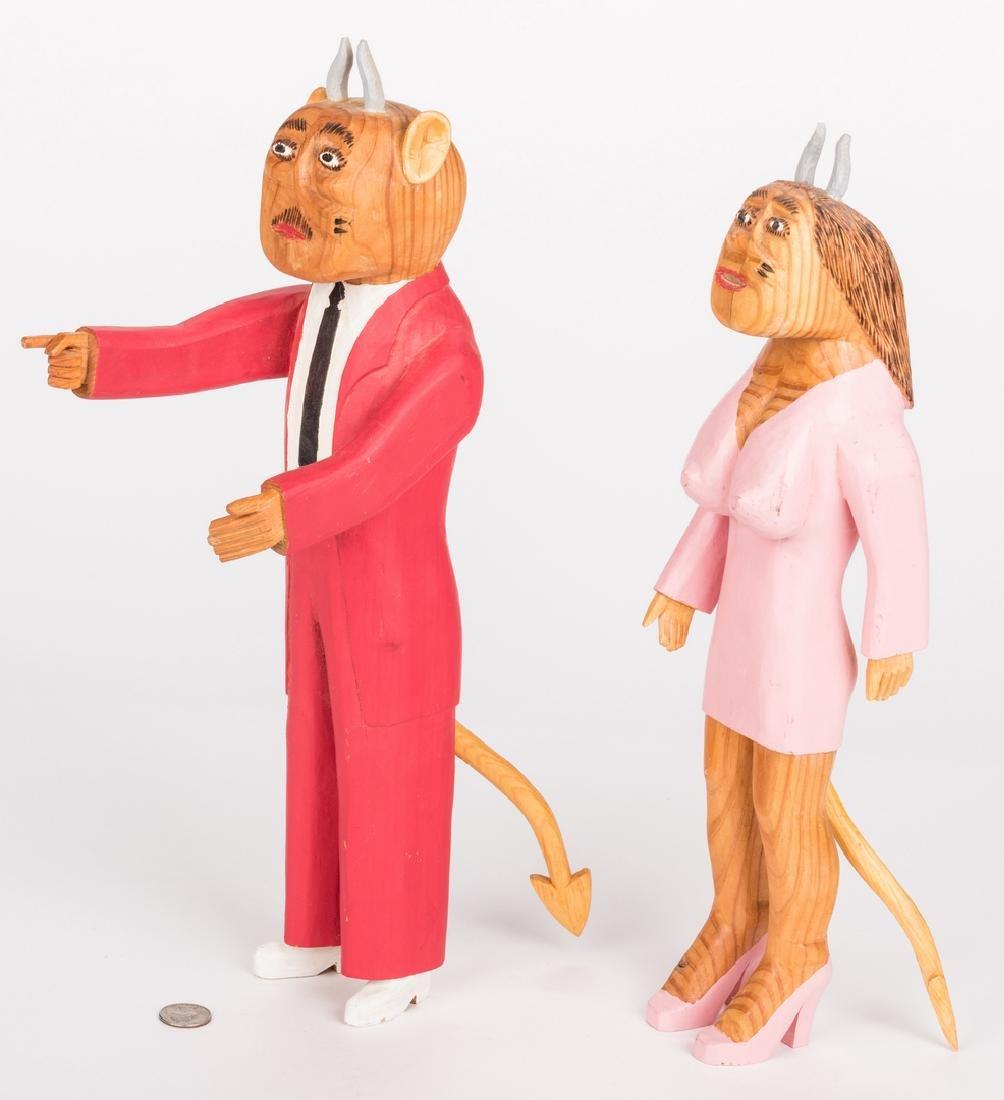 Sulton Rogers Devil Couple, 2 items - 3