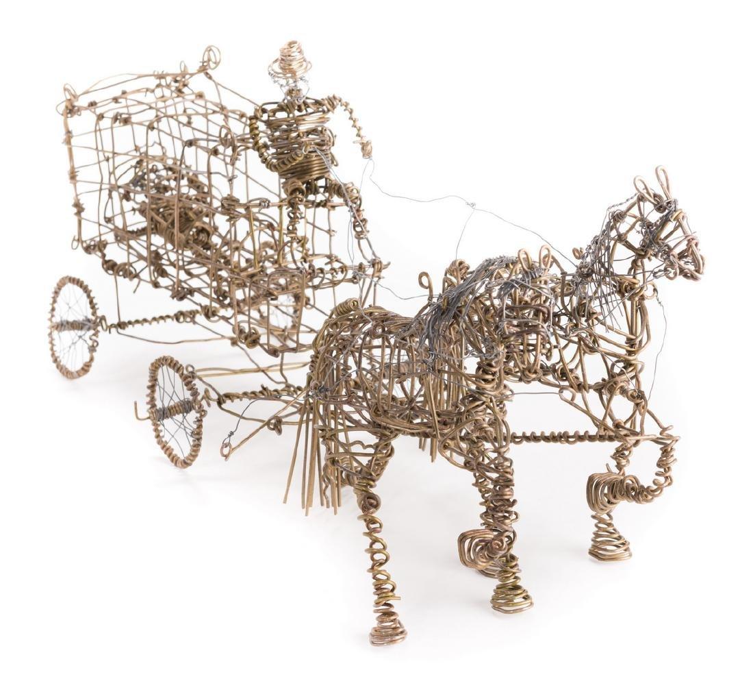 2 Vannoy Streeter Wire Sculptures - 2