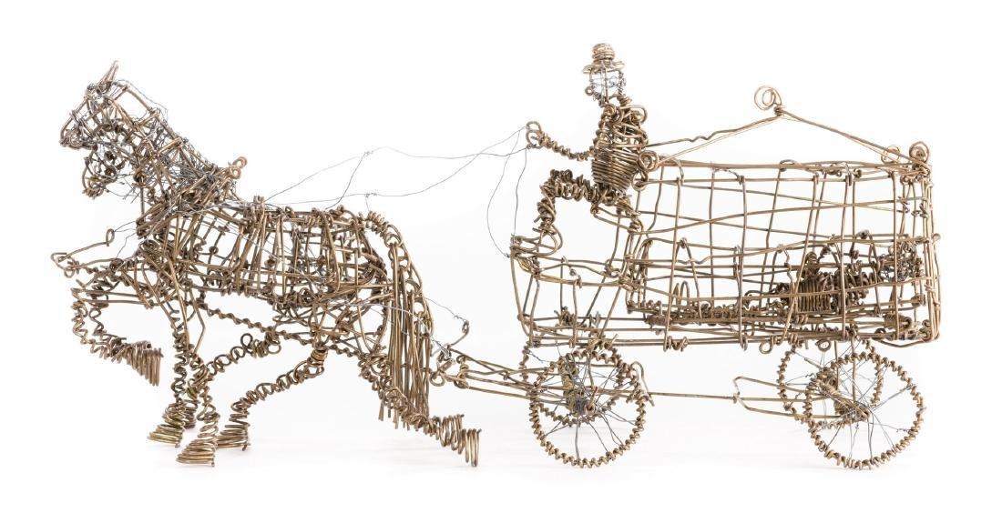 2 Vannoy Streeter Wire Sculptures - 6