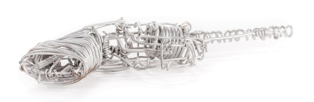 2 Vannoy Streeter Wire Sculptures - 9