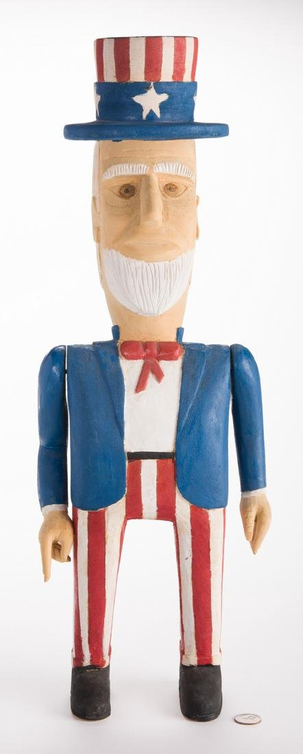 Wimp Gibson Carving, Uncle Sam - 10