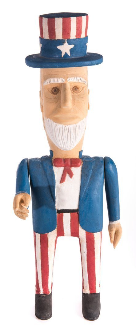 Wimp Gibson Carving, Uncle Sam