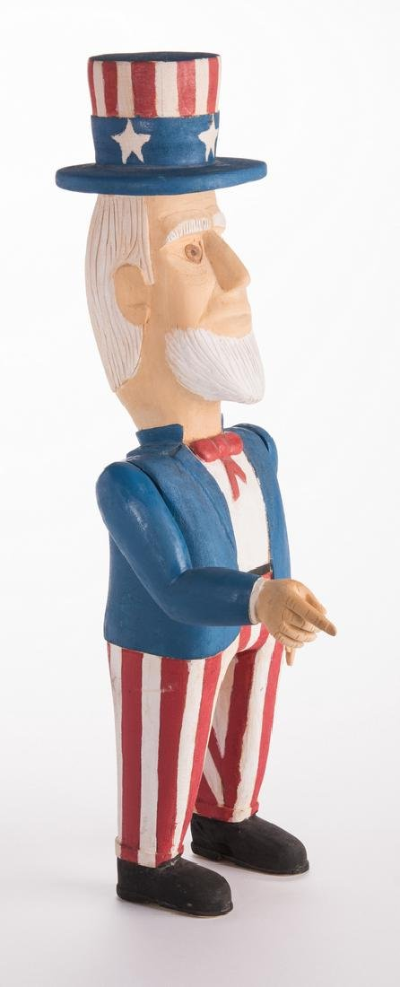 Wimp Gibson Carving, Uncle Sam - 2