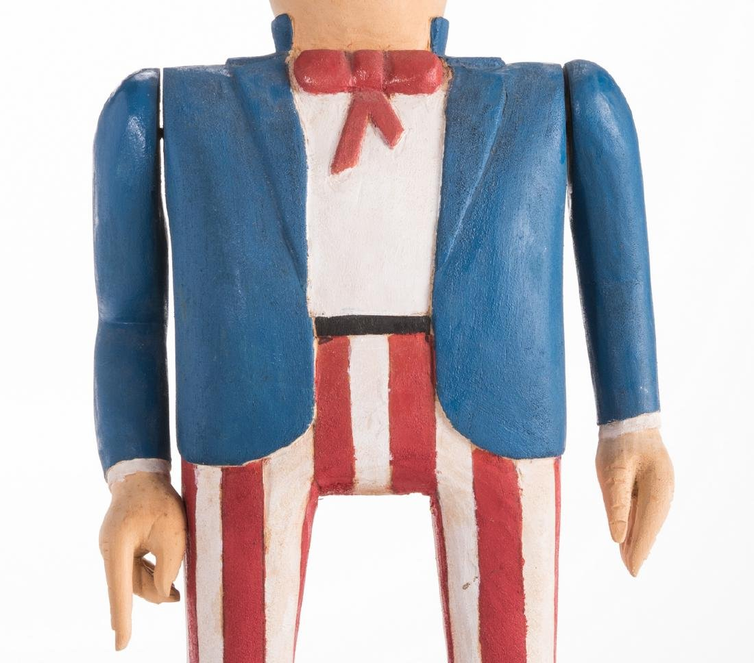 Wimp Gibson Carving, Uncle Sam - 5