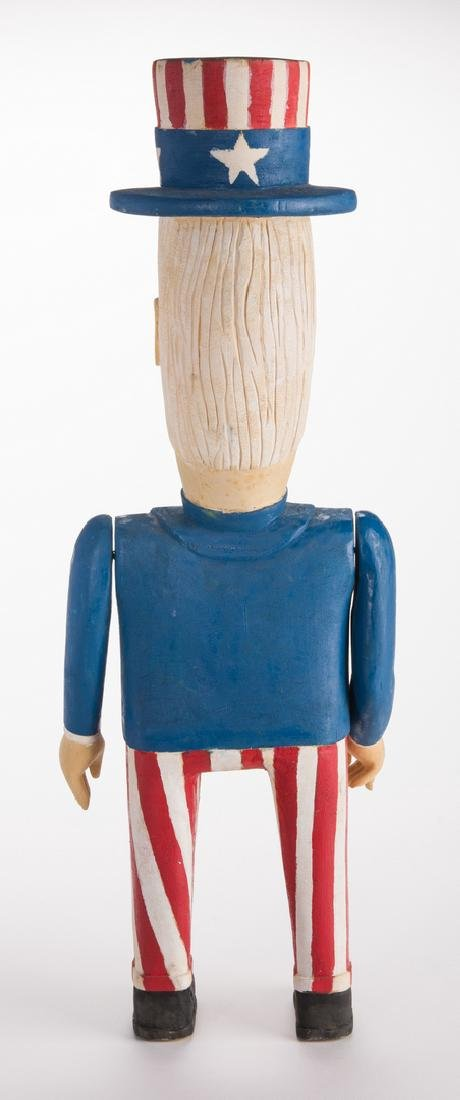 Wimp Gibson Carving, Uncle Sam - 6