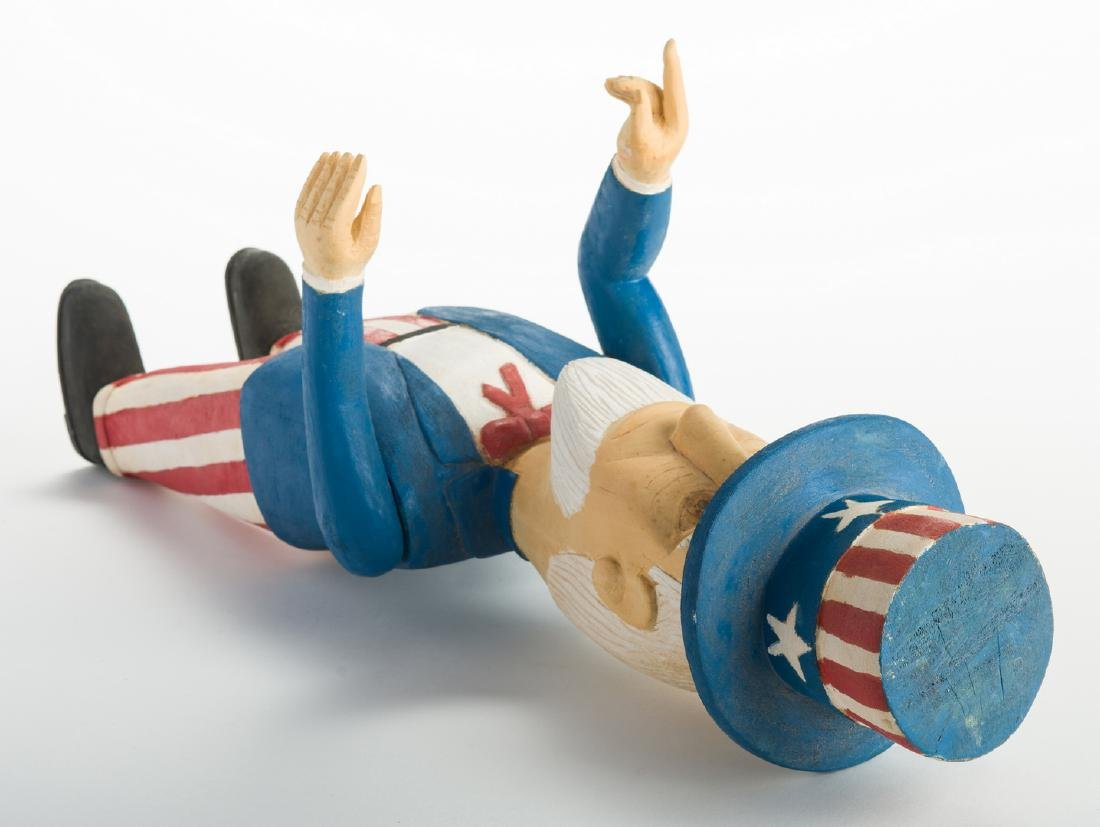 Wimp Gibson Carving, Uncle Sam - 7