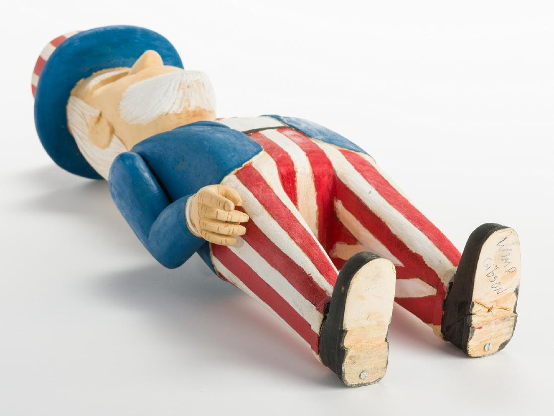 Wimp Gibson Carving, Uncle Sam - 8