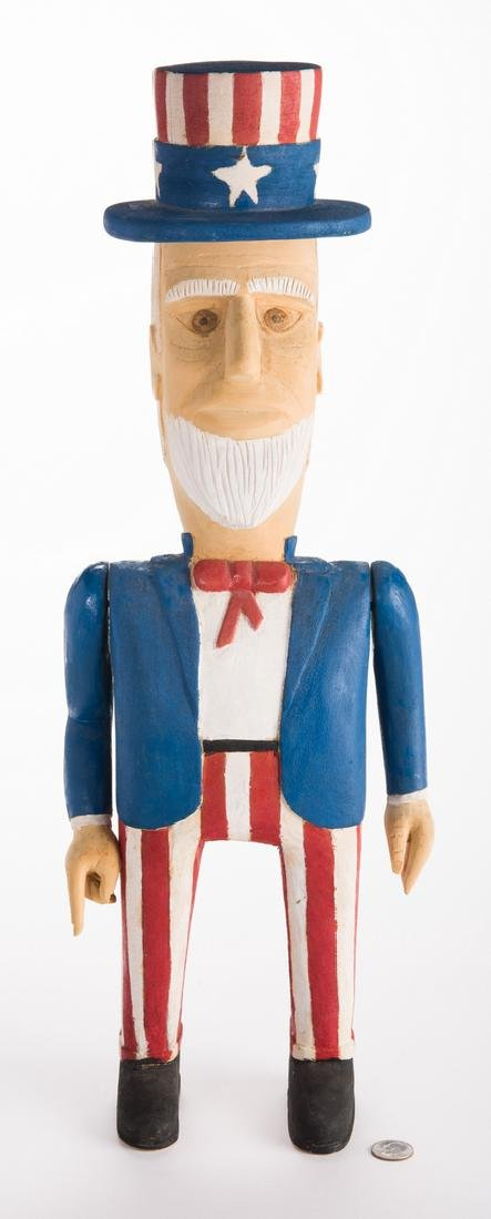 Wimp Gibson Carving, Uncle Sam - 9