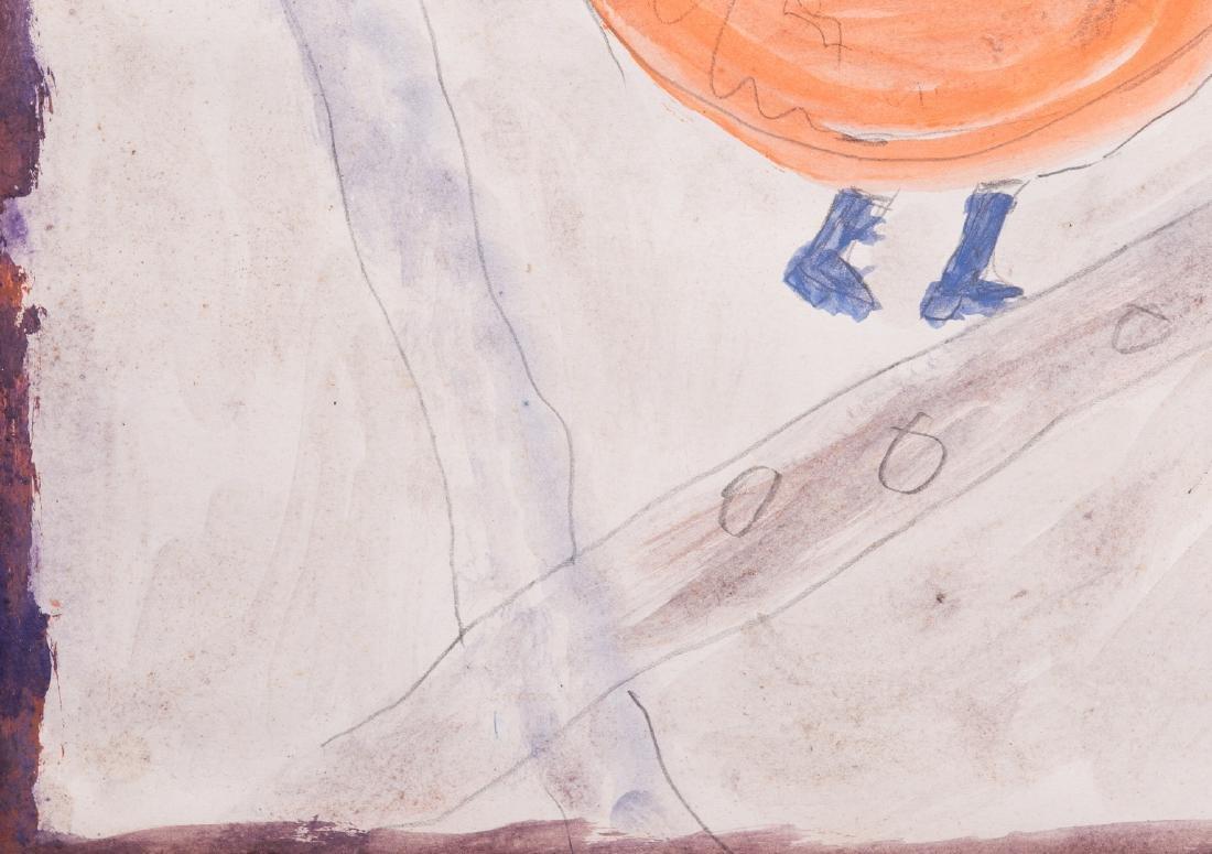 2 Folk Art Paintings, S. L. Jones & Charly King - 10