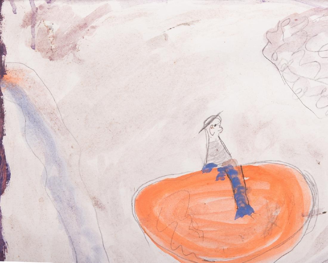 2 Folk Art Paintings, S. L. Jones & Charly King - 8
