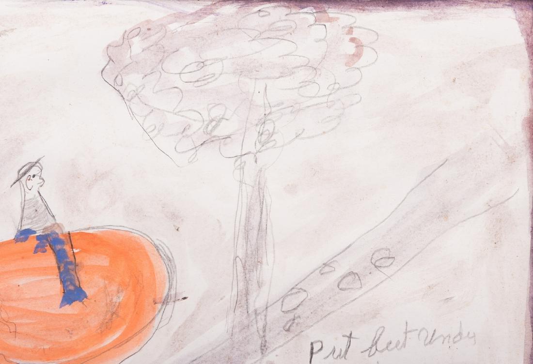 2 Folk Art Paintings, S. L. Jones & Charly King - 9