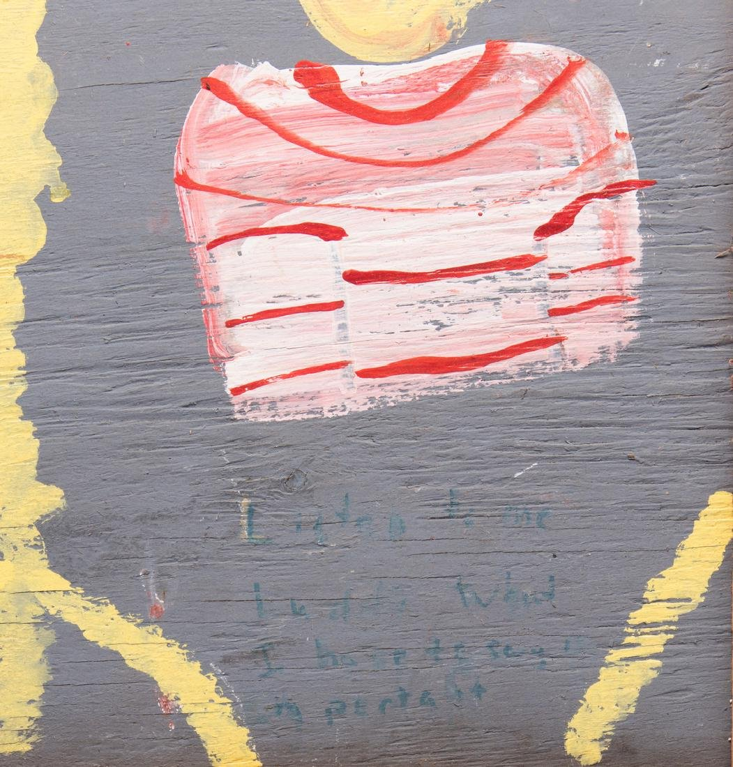5 Robyn Beverland Folk Art Paintings - 9