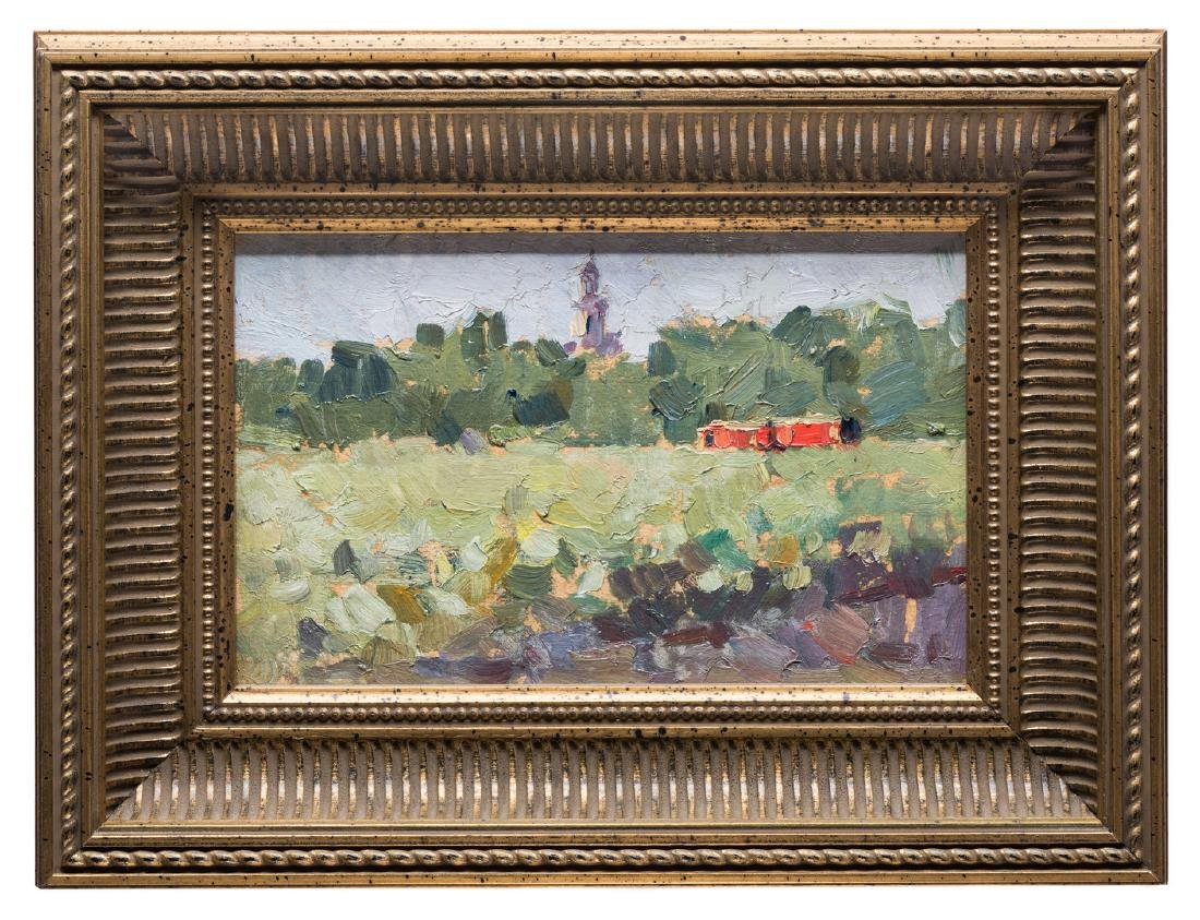 2 Russian School Impressionist Landscapes - 2