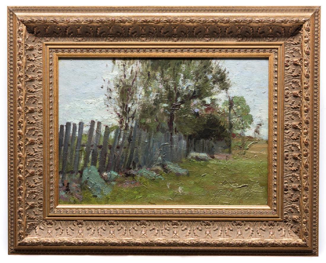 2 Russian School Impressionist Landscapes - 6