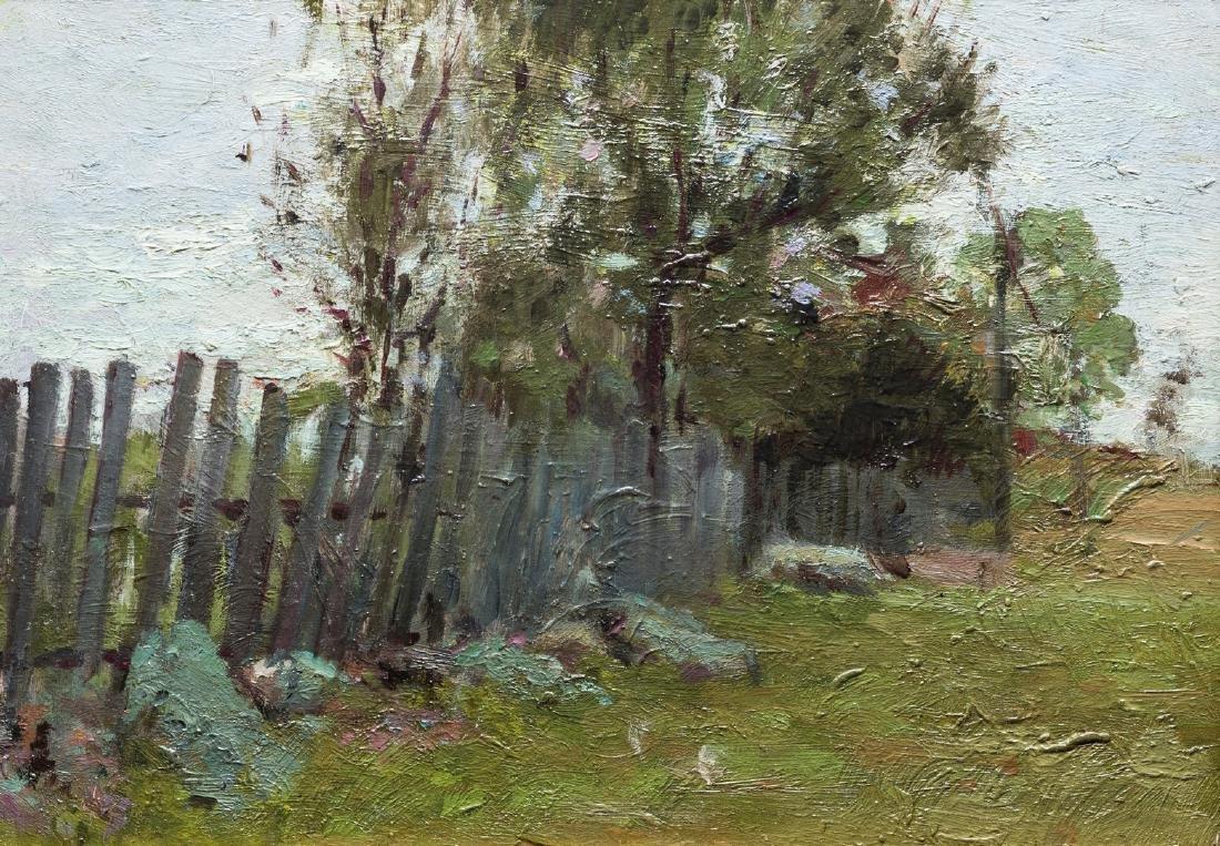 2 Russian School Impressionist Landscapes - 7