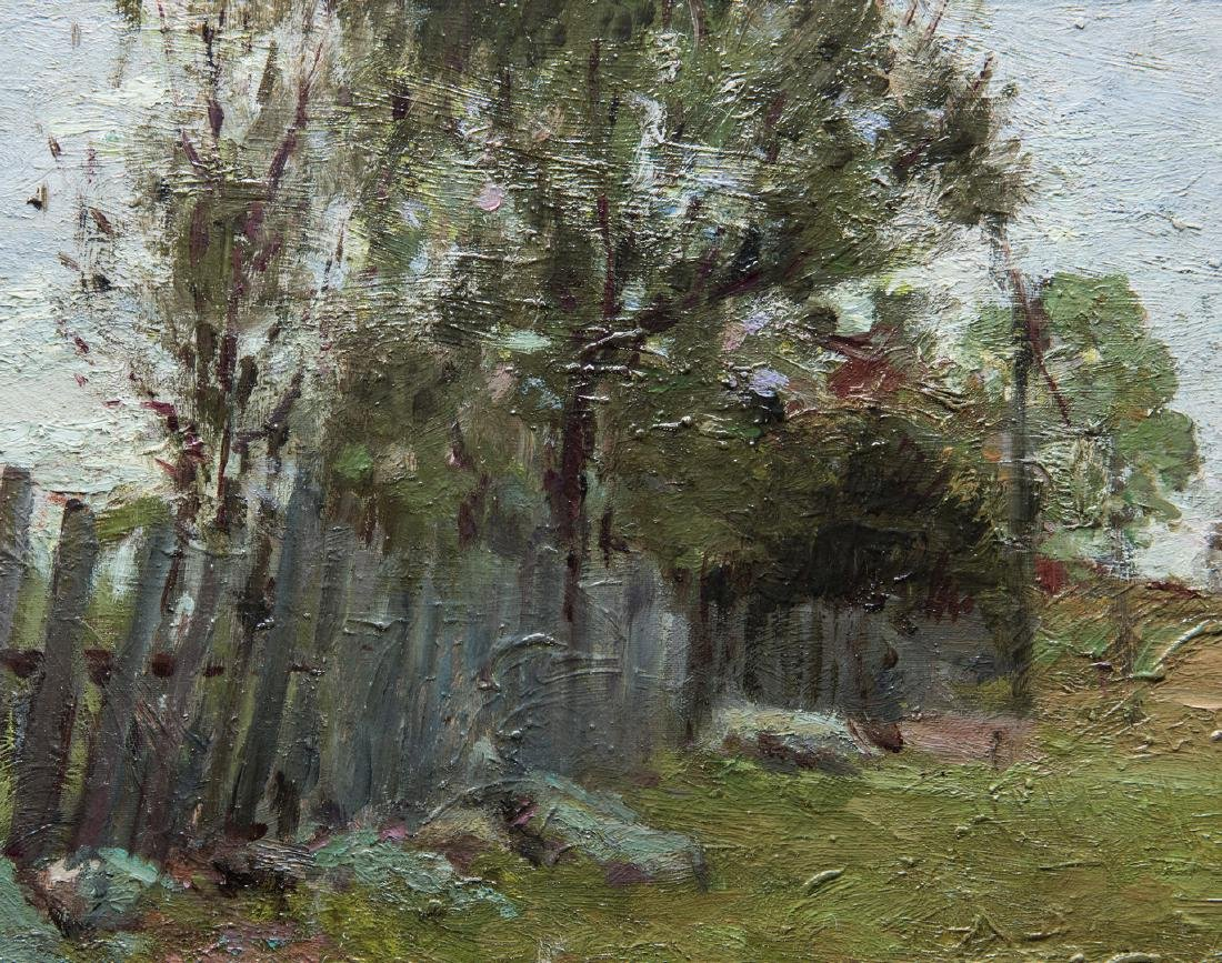 2 Russian School Impressionist Landscapes - 8